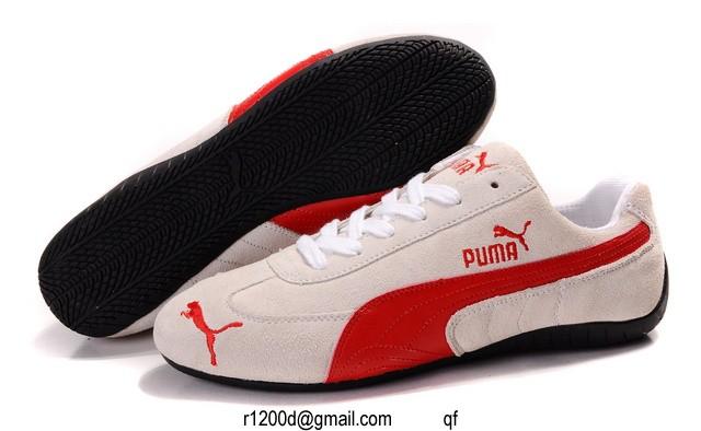 basket puma femme en daim